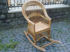 The furniture is terrace, the Rocking-chair, cheap
