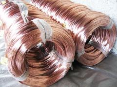 Copperplated welding wire of Sv08g2s 1,6 mm of TU