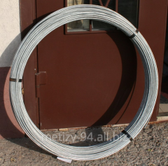 Wire for lightning protection and grounding to