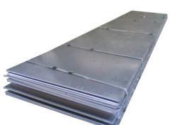 Leaf cold-rolled steel s=8-30, Sheets metal,