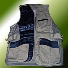 Vest shooting (fabric - skin, x/). Vests are