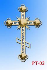 Crosses are church.