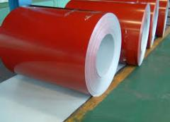 Steel polymeric in a roll
