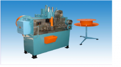 Automatic machine for production of forelocks