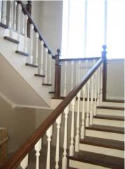 Handrail wooden