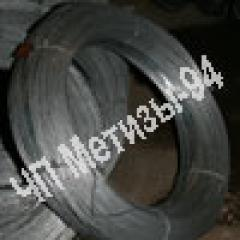 Wire OK diameter of 2,0 mm thermally processed by
