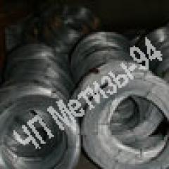Проволока ОК термически обработанная 3,5 мм ГОСТ 3282-74, низкоуглеродистая проволока обычного качества