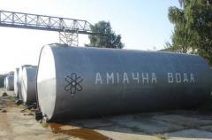 Ammonia liquor, liquid fertilizers