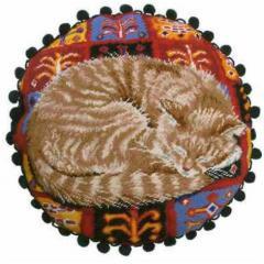 Набор для создания круглой подушки от Bothy