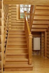 Поручни деревянные