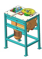 Universal electromechanical bending machine