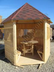 Pavilions Wooden