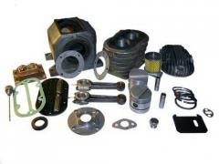 Spare parts to the VShV-2,3/230 compressor