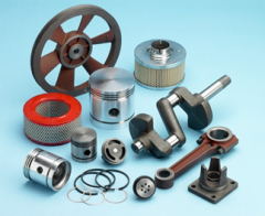 Accessories and spare parts different