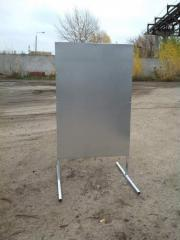 Frames for T-shaped pavement signs. To buy a frame