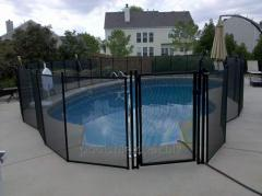 Protective fencing for the pool Shield