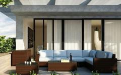 Мебель для кафе и ресторанов, модуль наружный