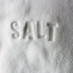 Extra salt iodized, in bags of 50 kg
