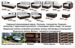 Мебель и интерьер, комплект Милано - помодульно