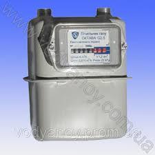 Счетчик газа G-1,6 G-2,5 G-4 Октава с КМЧ