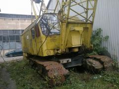 Кран на гусеничном ходу,грузопод.25 тон. Дизельный