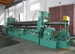 The equipment for production of a pipe