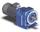 Motor reducers cylindrical N