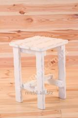 Wooden stool of the Country of new