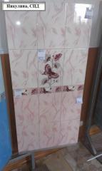Керамическая плитка розовая София