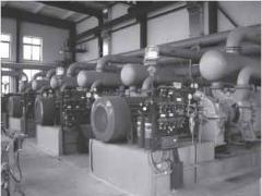 Pump water ring vacuum VVN2-150U