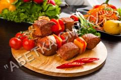 Meat for a shish kebab to Buy marinated meat for a