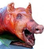 Голова свинная