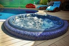 Spa pools (SPA). Hydromassage pools
