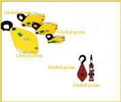 Polyspasts (blocks mounting)