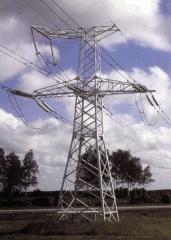Стальные опоры высоковольтных ЛЭП ВЛ 35, 110, 220,