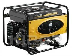 Generators diesel and petrol with air cooling