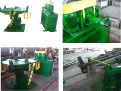 STAND OF DISMANTLING, TEST AND ASSEMBLY BY
