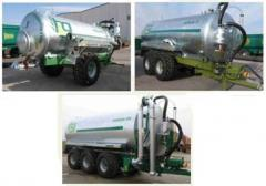 The semi-trailer tank Spreaders for introduction