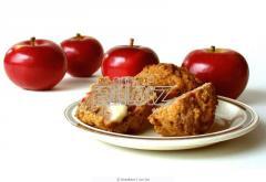 Кексы яблочные
