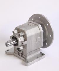 Cylindrical coaxial reducers of CHC