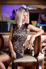 Платье Шик с гипюром. Женская одежда оптом
