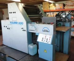 Two-colourful offset machine ROLAND 202 TOV