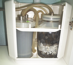The filter for purification of drinking water