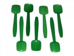 Spoon plastic for ice cream
