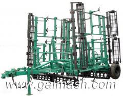 Cultivator of steam semitrailer KPN-8,2 of