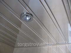 Алюминиевый потолок для санузла, сауны, бассейна,