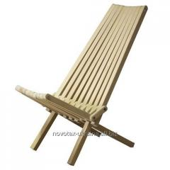 Sedia Kentucky, chaise longue, mobili da terrazza