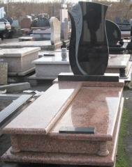 Granite plates and blocks from the Ukrainian