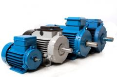 Electric motors of alternating current