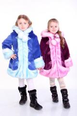 Snow Maiden fur coat Metrics Size 24 98-48-45 26